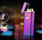 Electronic USB Pulse Charging Rechargeable Cigarette Lighter arc Lighters Gift
