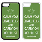 Funny Keep Calm Printed PC Case Cover - Star Wars Yoda - S-G1042