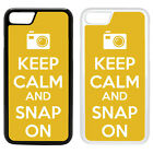 Funny Keep Calm Printed PC Case Cover - Snap Camera Photography - S-G1040