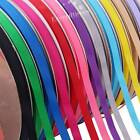 100Yds 10mm Width Quality Full Reels Grosgrain Ribbon Roll Gift Bow DIY Crafts