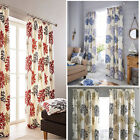 Dandelion Print Pencil Pleat Lined Curtains (pair Of) - Now £10, £15 & £20