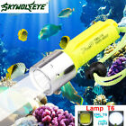 8000LM Waterproof CREE XML2 T6 LED Scuba Diving Underwater 100M Flashlight Lamp
