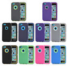 Heavy Duty Shockproof Defender Cover Case for iPhone 5C