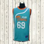 Downtown Malone Basketball Jersey #69 Flint Tropics Movie Semi Pro Green New