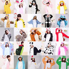 New Unisex Adult Animal Onesies Onsie Kigurumi Pyjamas Sleepwear Onesie Dress