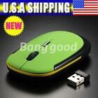 Slim Travel Wireless Optical Mouse Mice for All Laptop HP Dell Sony Toshiba XD