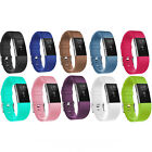 2016 New Silicone Wristband Band Strap Metal Buckle For Fitbit Charge 2 Bracelet