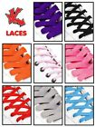 10 x Pairs of Shoelaces / Shoe Laces / Bootlaces - Lots of Colours & Styles