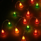 20LED Battery Powered Fairy Cone String Lights Indoor Christmas Party Xmas Light