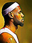 Lebron James Cleveland Cool Painting Pop Art Giant Wall Print POSTER