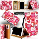 For Various HTC One Models New Leather Stand Flip Wallet Cover Mobile Phone Case