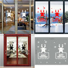 Greeting New Years Wall Window Showcase Home Sticker Christemas Decoration DIY