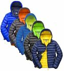 Mens Contemporary Urban Skiing Padded Jacket with Hood