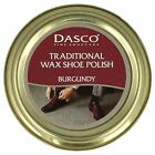 DASCO TRADITIONAL BURGUNDY WAX SHOE POLISH