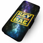 Rey Is Bae -Faux Leather Flip Phone Cover Case- Star Wars Finn Luke Snoke Force £9.65 GBP on eBay