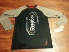 BOY'S TOP FULL SLEEVE T-SHIRT BY REEBOK SIZE LARGE BRAND NEW