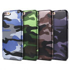 Camouflage Leather Thin Soft Back Shockproof Case Cover for iPhone 6s 7 Plus 5s
