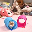 Pets Toy Tunnel Foldable Kitten Cat Play Teaser With Small Bell Attractive Toys