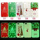 Fashion Luminous Scratch Christmas Gift soft shell for iPhone 7 7Plus 6 6s Plus