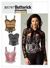 PATTERN Sewing BUTTERICK  CORSET & Shrug 6 to 22 5797 Misses'