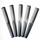 1/5/10Pcs Salon Hair Styling Hairdressing Antistatic Barbers Detangle Comb Black