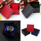 Fashion Present Gift Boxes Case For Bangle Jewelry Ring Earrings Wrist Watch Box image