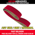 10 x HD VSM CERAMIC Abrasive Belts 75x2000mm (P36-P120)  Manufactured in Ireland