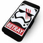 Betray Printed Faux Leather Flip Phone Cover Case Star Wars Force Lightsaber