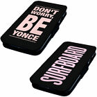 Beyonce . Designs - Printed Faux Leather Flip Phone Cover Case