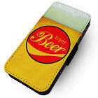 Enjoy Beer -Faux Leather Flip Phone Cover Case- Cola Parody Design Collar Head £9.75  on eBay