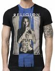 "RELIGION Clothing Herren T-Shirt Shirt ""SPEAK NO EVIL"" NEU"
