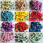 100X 500X Roses Artificial Silk Flower Heads Party Wedding Decor Wholesale Lots