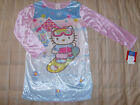 Hello Kitty NWT Nightgown snowboarding Hello Kitty 7/8 med or 10/12 large girl