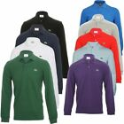 lacoste long sleeve polo shirts - NEW MENS LACOSTE LONG SLEEVE CLASSIC FIT COTTON PIQUE POLO SHIRT, L.13.12
