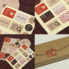 WHOLESALE JUST FOR YOU ENVELOPE SEAL GIFT FOOD WRAPPING PACKAGING STICKER