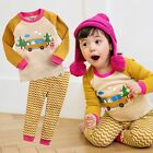 "Vaenait Baby Toddler Kids Girls Clothes Sleepwear Pajama Set ""Joy Trip"" 12M-7T"