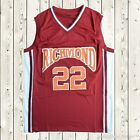 Timo Cruz #22 Coach Carter Movie Basketball Jersey Richmond Oilers Stitched Red