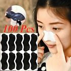 100pcs Nose Pore Cleanning Strips Blackhead Remover Peel Off mask / Nose Sticker