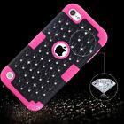 For iPod Touch 5th 6th Generation 3-in-1 Hybrid Shockproof Impact PC Case Cover
