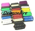 Dragonfire SCREAMERS Humbucker Pickup SET Bridge & Neck HH Pickups, COLOR CHOICE
