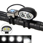 Waterproof 10000LM 2x XM-L2 T6 LED Front Bicycle Light Lamp Bike Torches 4-Modes