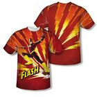 The Flash - Lightning Fast Adult All Over Print T-Shirt