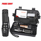 G700 X800 6000LM shadowhawk T6 LED 26650 Flashlight Torch Lamp Light Kit US