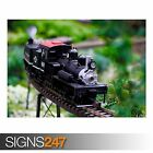 TRAIN AT PHIPPS (AB029) TRAIN POSTER - Photo Picture Poster Print Art A0 to A4
