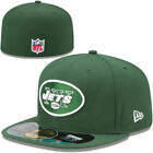 NEW YORK JETS Green NEW ERA 59Fifty FITTED HAT CAP MENS ADULT NFL ON-FIELD
