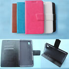 Medion Life S5504(MD 99774)-Wallet Folder Stand Flip Folio PU Leather Case Cover