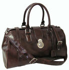 Amerileather Langam 17-inch Carry On Leather Duffel Bag (#2115-4)