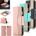 Magnetic Leather Wallet Case Flip Card Holder Cover Stand for iPhone 6 6s 7 Plus