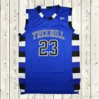 Nathan Scott #23 One Tree Hill Ravens Basketball Jersey Throwback Stitched Blue