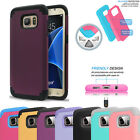 Hybrid Rugged Shockproof Rubber Case For Galaxy S6 S7 Edge Plus Note 5 4 LG G4 5